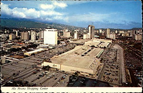 Ala Moana Shopping Center Honolulu, Hawaii Original Vintage - Shopping Ala Moana