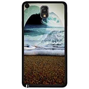 Abstract Ocean Art Hard Snap on Phone Case (Note 3 III)