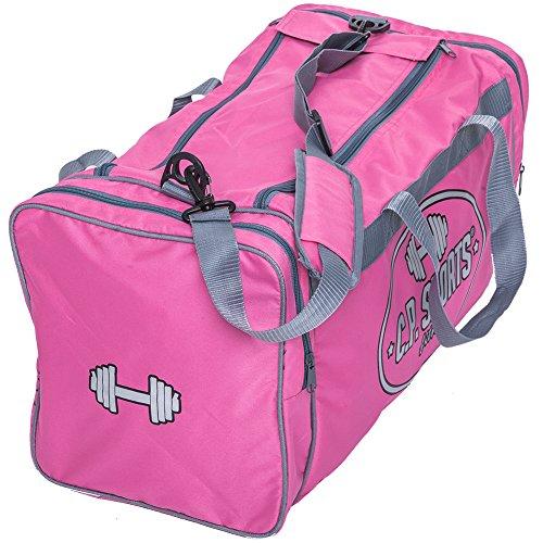Bodybuilding Trainingstasche von C.P.Sports S5 - Farbe: schwarz - Sporttassche Groß für Männer & Frauen - Sportsbag, Trainingsbag, Sports Bag
