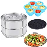 KINDEN Instant Pressure Cooker Accessories - Stackable Stainless...