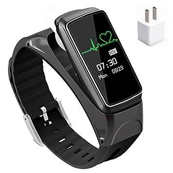 YOPEEN Relojes Inteligentes Auriculares Bluetooth Manos Y Wireless Stealth Mini Auricular Bluetooth El Oído El Negocio Del Deporte Para Escuchar Hablar De ...