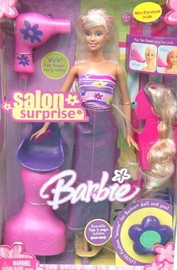 Barbie Glamour Surprise (Barbie Wigs)