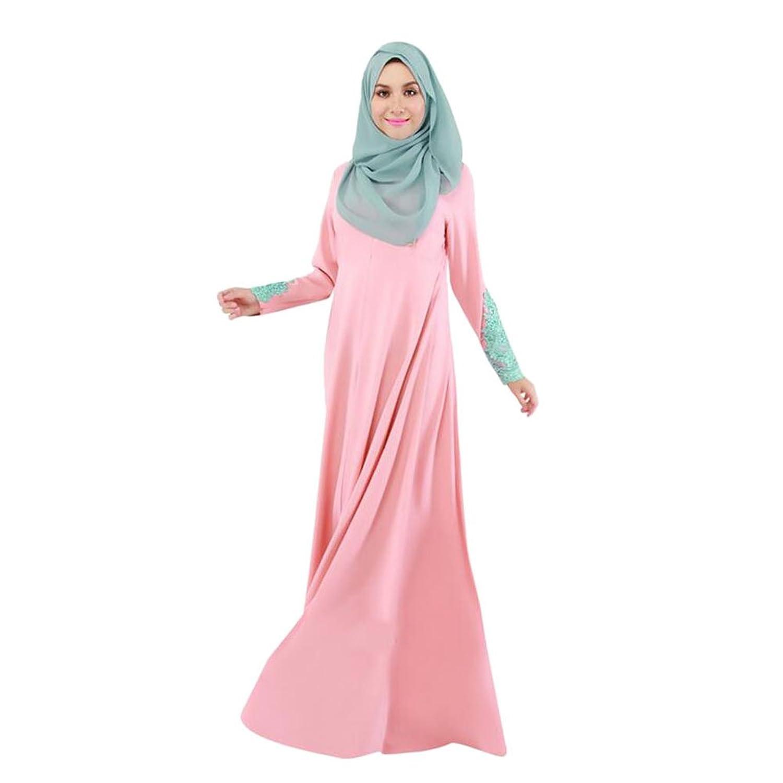 alta calidad Haodasi Mujer Kaftan Abaya Vestido Musulmán Islam ...