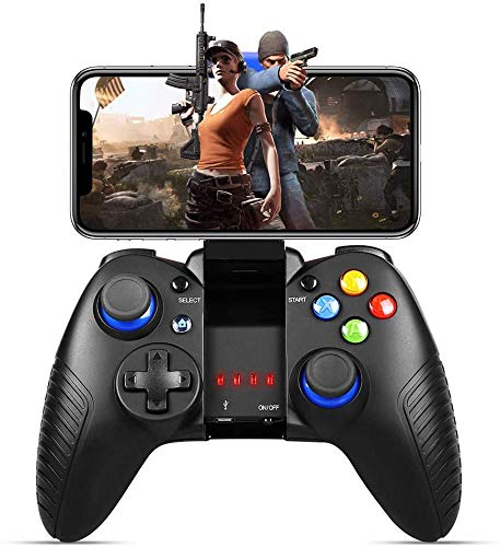 PowerLead Handy controller Für iPad Mini/Mobile,Wireless Game controller für PUBG,Gamepad Für iOS Android[Unterstützt vorübergehend nicht IOS13.4 und höher]