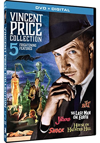 Vincent Price Collection - 5 Frightening Features (Best Price On Shocks)