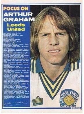 SHOOT Focus Leeds United ARTHUR GRAHAM football magazine ...