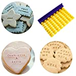 Dasado Keland Alphabet Letter Number Cookie Stamp Mold Cutter Press Home Kitchen Pastry Brushes 11 Material: Plastic Pattern: Letter A-Z, Number Application: Cake, Cookie, etc