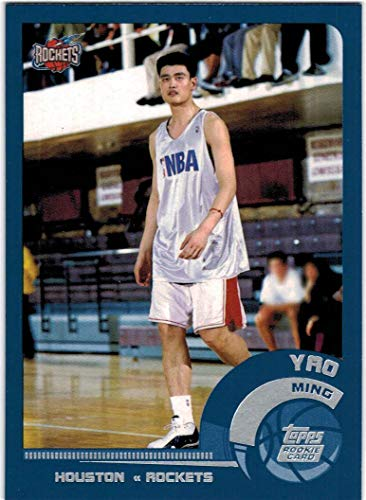 2002-03 Topps Houston Rockets Team Set with Yao Ming RC & Steve Francis - 9 NBA Cards ()