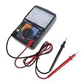 Rockrok Multimeter KT8260L Analog ACV/DCV/DCA/Electric Ohm Resistance Tester w/Test Pen