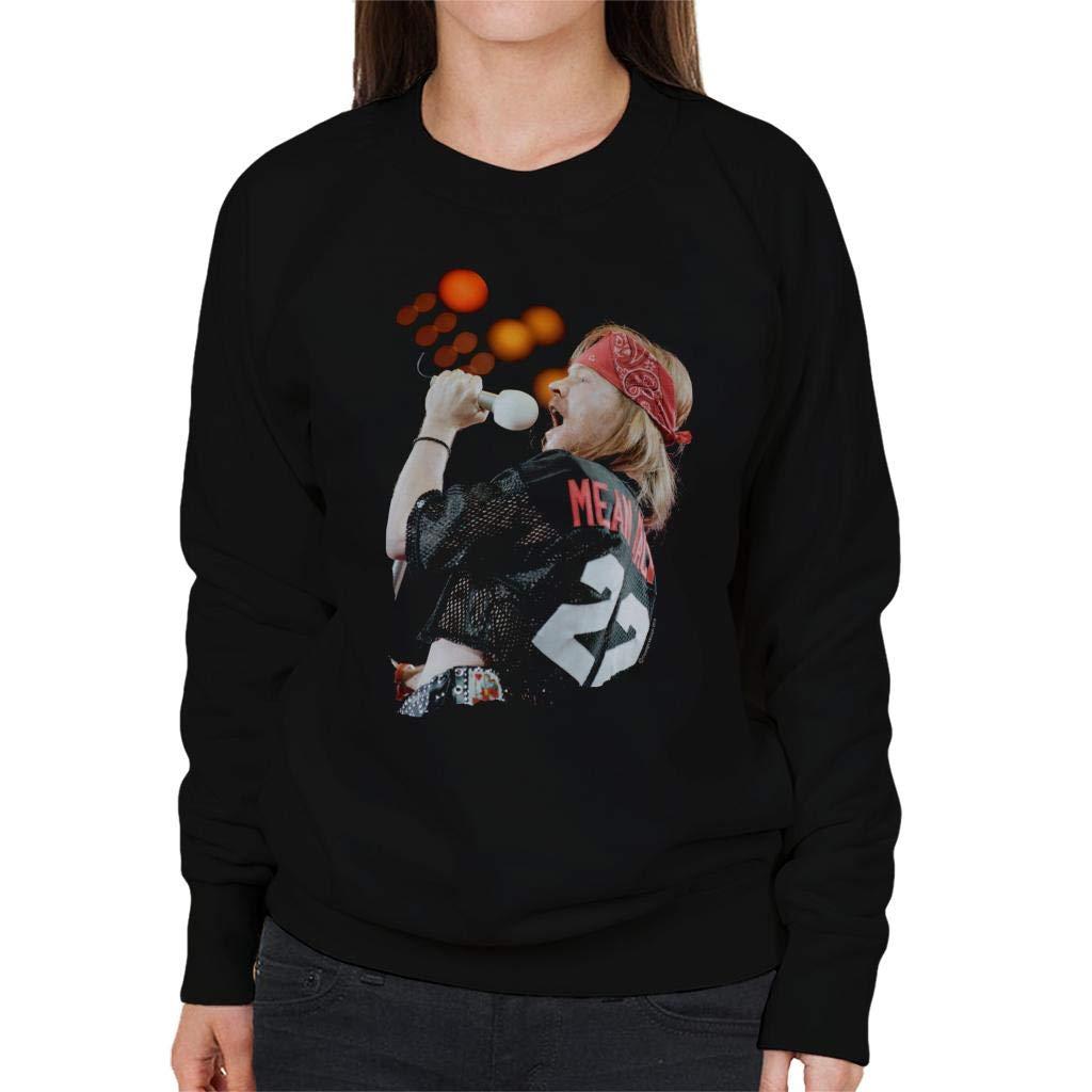 Pod66 Axl Rose at Freddie Mercury Tribute Concert 1992 Women's Sweatshirt