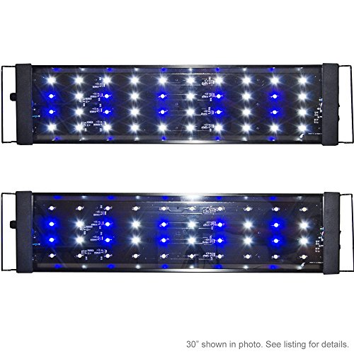 Mh 48 Metal Halide T5 Aquarium Light 716w Coral Reef: Beamswork LED Quad 30 3W Timer Aquarium Light Marine Coral