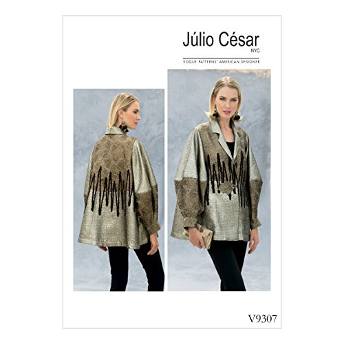 Vogue Patterns V93070Y0 Misses' Jacket x-Small-S-M Green