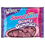 Wonka Sweetarts Valentine's Gummy Hearts, 11-ounce (2) Bags
