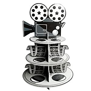 """Fun Express Movie Reel Cupcake Holder Foam for Your Oscar Party Novelty, 12 x 17-1/4"""""""