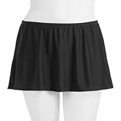 0b154d4dc3 Image Unavailable. Image not available for. Color  Catalina Fashion Women s  Plus-Size Tummy Control Skirted Swim Bottom
