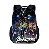 Best AVENGERS Book Bags - YOURNELO Kid's Anime The Avengers Color Printed Rucksack Review