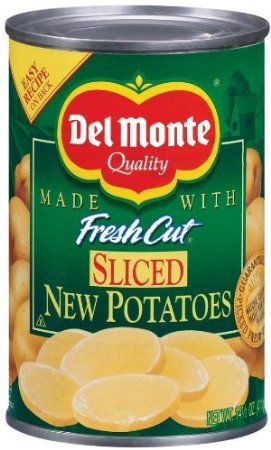 Del Monte Sliced New Potatoes 14.5 oz - 2 Pack by Del Monte