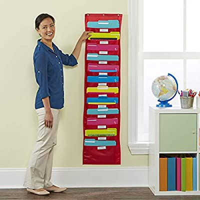 Educational Insights Space Place 12 Pocket Chart, Classroom Storage, Teacher Origination Center: Office Products