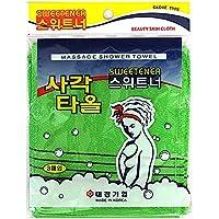 Sweetener, Koreaanse peelinghandschoen (3 stuks), peeling handdoek, Koreaanse exfoliating Bath Washcloth (3 stuks…