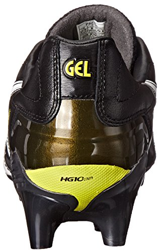 Asics Heren Gel-letale Tigreor 7 It Voetbalschoen Zwart / Wit / Lel