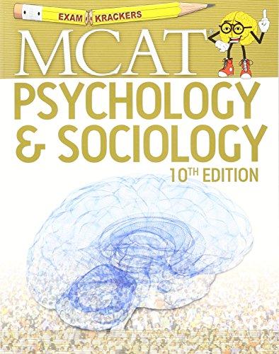 Examkrackers MCAT: Psychology & Sociology