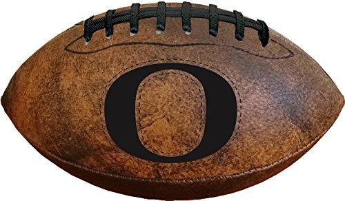 NCAA Oregon Ducks Vintage Throwback Football, 9-Inches ()
