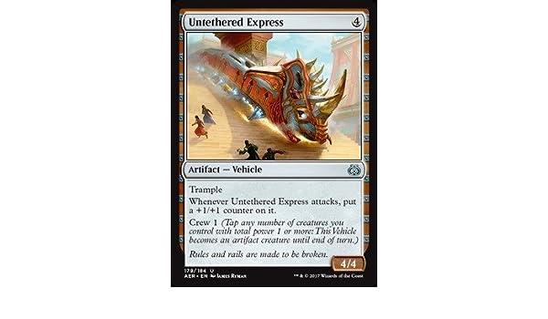 Amazon com: Magic: the Gathering - Untethered Express (179