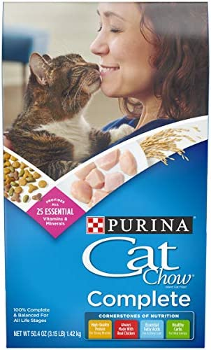 Purina Cat Chow Dry Cat Food, Complete 2