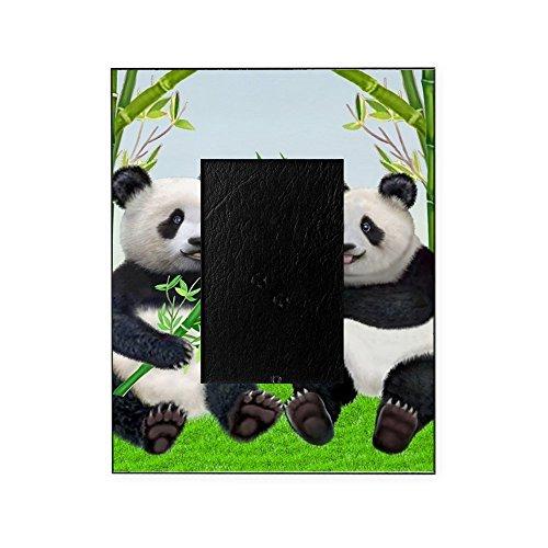 CafePress - LOVING PANDAS - Decorative 8x10 Picture - Frame Picture Panda