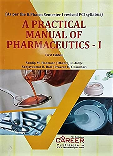 buy a practical manual of pharmaceutics 1 book online at low rh amazon in General Chemistry Lab Manual A&P Lab Manual Answers