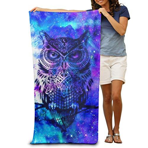 DWN Bath Towels Blue Owl 32