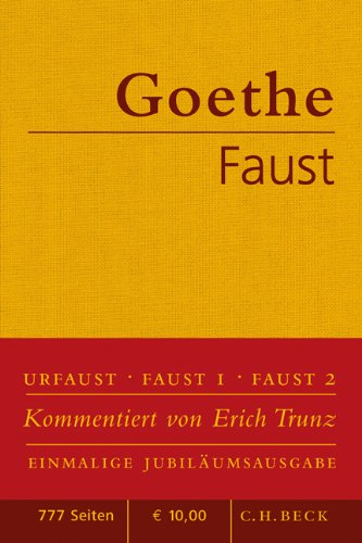 Faust: Der Tragödie erster und zweiter Teil. Urfaust