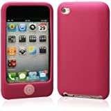 [全12色]iPod Touch 4 シリコンケース チョコレート豆 ピンク iPod Touch 4 Silicone Case (pink) (362-11)