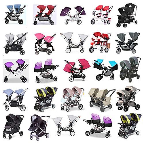 Aligle Shield Double Popular for Swivel Stroller Baby Rain Shield