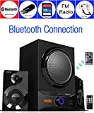 Boytone BT-209FD Wireless Bluetooth Main unit, Powerful Sound & Bass, 30 watt, excellent clear sound & FM radio, Remote control Aux Port, USB/SD/for Smartphone's, Tablets, Computers, Home Theater