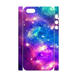 New Brand Cusom 3D Phone Case for Iphone 5,5S - Wings Galaxy Space 3D Hard Back Cover Case LIB716236