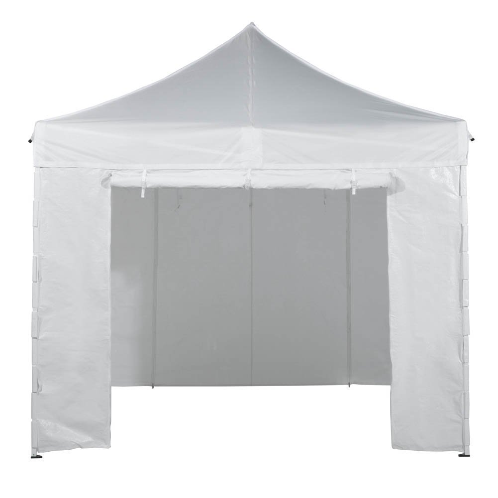 Amazon.com  Abba Patio 10 x 10 feet Pop Up Heavy Duty Instant Canopy Commercial Portable Canopy with Sidewalls Enclosure White  Garden u0026 Outdoor  sc 1 st  Amazon.com & Amazon.com : Abba Patio 10 x 10 feet Pop Up Heavy Duty Instant ...