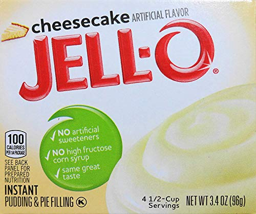 - Jell-O Cheesecake Instant Pudding & Pie Filling (4-Pack)