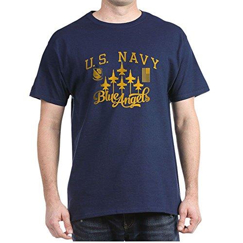 CafePress U.S. Navy Blue Angels Squadron 100% Cotton T-Shirt