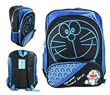 Full Size Black Seasonal Doraemon Backpack – Doraemon Bookbag, Bags Central