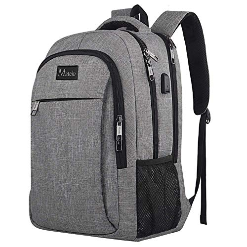 Travel Laptop Backpack, Professional Business Backpack Bag with USB...