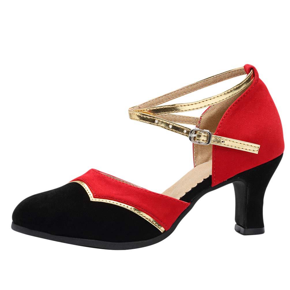 CHENYANG Femmes Chaussure de Danse Sandales pour Latines Tango Jazz Chaussures de Danse de Salon de Mode