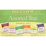 Bigelow 6 Assorted Herbal Teas, 18 Count Box