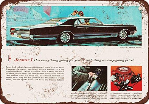 9-x-12-metal-sign-1965-oldsmobile-jetstar-vintage-look-reproduction