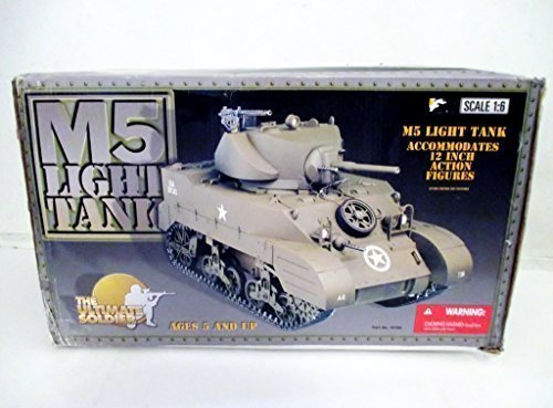 The Ultimate Soldier M5 Light Tank -