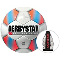 Derbystar Brillant TT Orange Trainingsball 10er Ballpaket