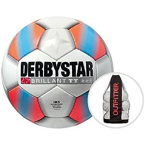 Derbystar Brillant TT Orange Trainingsball 10er Ballpaket