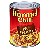 chili canned - Hormel Chili No Beans, 19 Ounce (Pack of 12)
