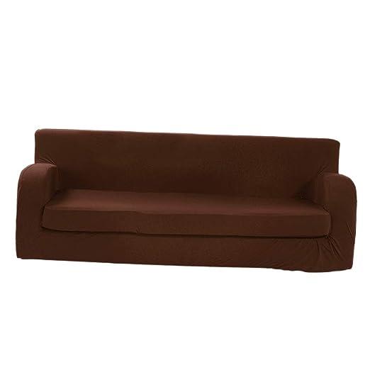 F Fityle - Funda de cojín elástica para sofá de 2 Piezas ...