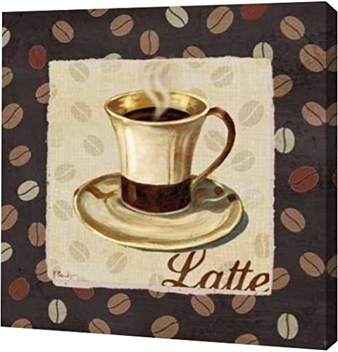 "PrintArt GW-POD-11-BNT-254-16x16 ""Cup of Joe III"" by Paul Brent Gallery Wrapped Giclee Canvas Art Print, 16"" x 16"""